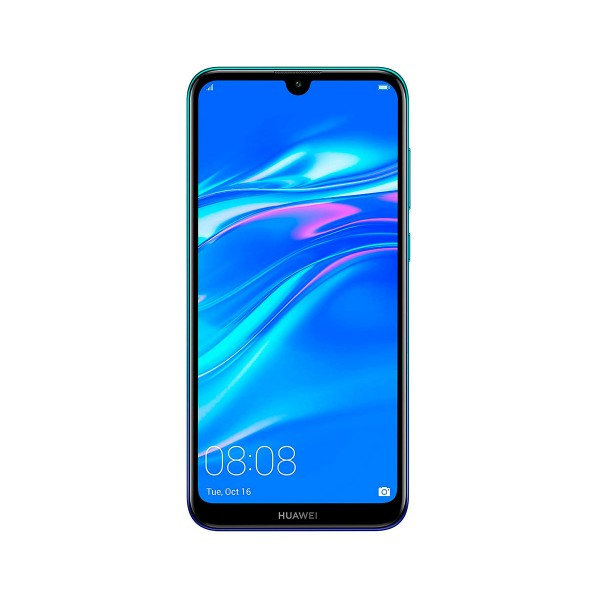 Huawei y7 2019 azul móvil 4g dual sim 6.26'' ips hd+/8core/32gb/3gb ram/13mp+2mp/8mp