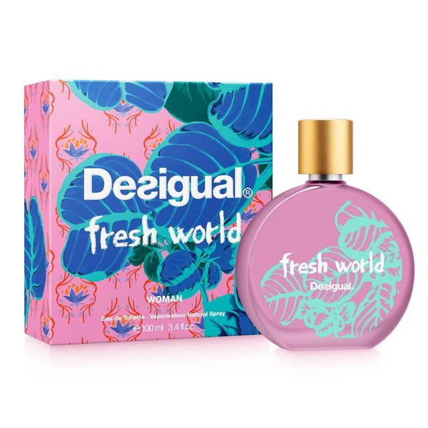 Desigual fresh world woman eau de toilette 100ml vaporizador