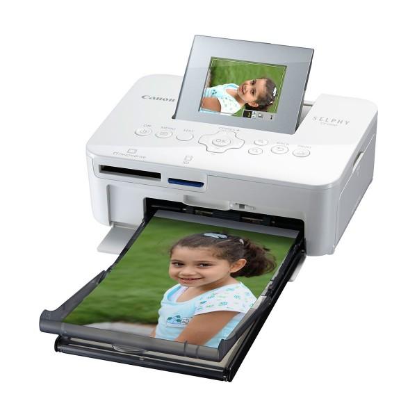 Canon selphy cp1000 blanco impresora fotográfica compacta y portátil impresión desde usb y sd