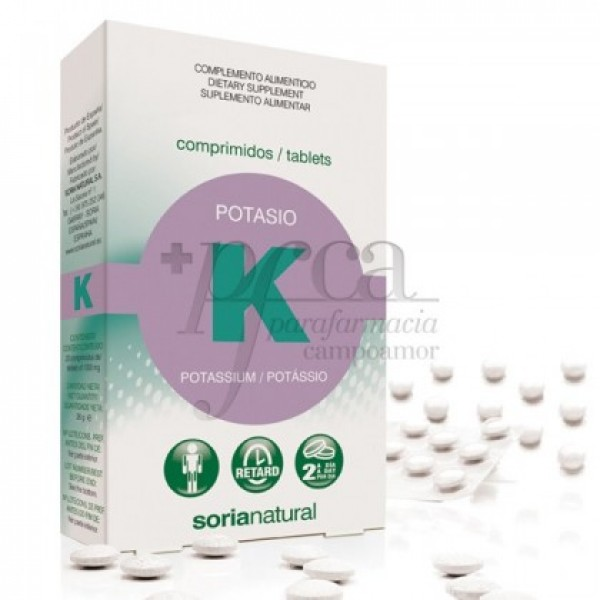 POTASIO 20 COMPS RETARD SORIA NATURAL 11132