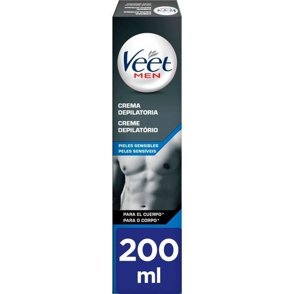 Veet crema depilatoria Men Pieles Sensibles 200 ml