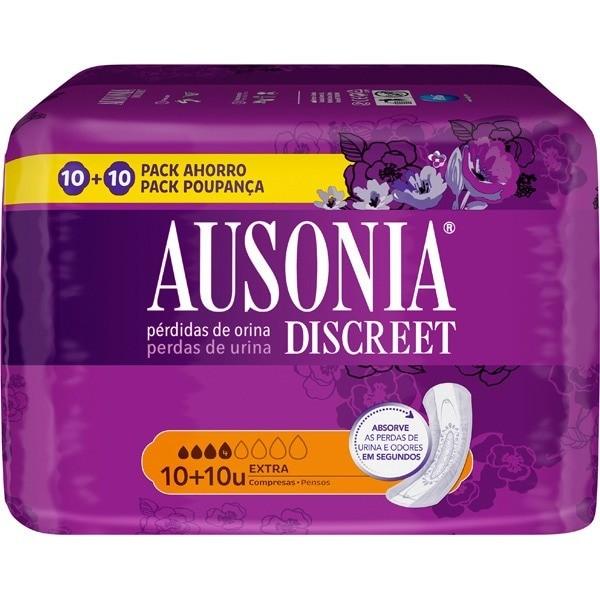Ausonia Discreet compresas Extra 10 uds 2 x 1